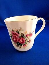"""Royal Stuart Fine Bone China Tea Cup Made in England 3 3/8"""" tall Pink Roses"""