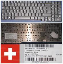Teclado Qwertz Swiss PB EasyNote SB85 MINOS GP PB3 MP-03756CH-9203 AEPB3S00010