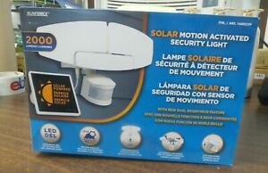 New Open Box- Sunforce LED Solar Motion Activated Security Light
