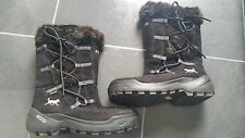 ECCO WOMEN BLACK WINTER WARM BOOTS SIZE 39