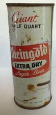 Rheingold Beer Los Angeles Ca pint can flattop Liebmann Breweries Ny 16 ounce oz