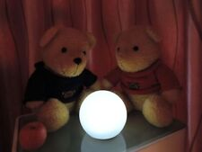 LED Ball Light Rechargeable Garden or table lamp RGB+W Color Outdoor IP65 250mm