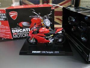 GRANI & PARTNERS - DUCATI - 1299 Panigale 2015 1/24 - Mini Toy Car - Bike A14