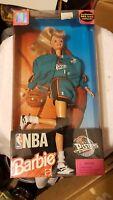NBA Barbie Detroit Pistons Barbie Doll Basketball Sports 1998 Mattel 20706