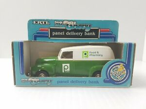 Vintage ERTL 1950 Chevy Panel Delivery Truck Bank PUBLIX NOS From 1988 1/25 USA