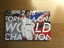 Lewis Hamilton  2018 World Champion  6x4 Photo