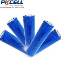 5x 18650  Rechargeable Li-ion Battery 2200mAh 3.7V Flat Top PKCELL