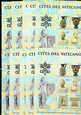Vaticano. Conjunto de 10 Hojas Bloques. Ivert nº 5**