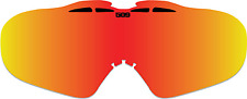 509 Youth Sinister Dual-Pane Fire Mirror/Rose Tint Snowmobile Goggle Lens