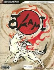 OKAMI BRADYGAMES OFFICIAL STRATEGY GAME GUIDE PS2 PLAYSTATION 2