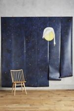 NEW $228 ANTHROPOLOGIE STARRY SKY SWAN MOON WALLPAPER MURAL REBECCA REBOUCHE
