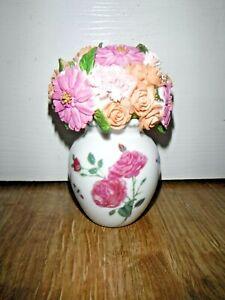 Atlas Floral Treasures Vase Flowers ~ Aynsley Style ~ Excellent