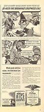 1942 Vintage ad for Kellogg's Rice Krispies`Art WWII era (041517)