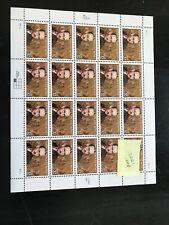 STEPHEN VINCENT BENET  SCOTT 3221 .32 20 STAMP SHEET MNH