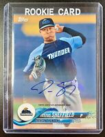 2018 Topps Pro Debut JUSTUS SHEFFIELD Autograph Rookie RC Signature #16 Mariners