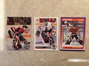 3 Dominik Hasek 1991 Pro Set Platinum #252 ROOKIE Score #316 Upper Deck 1992-93