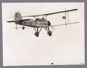 VICKERS VINCENT NZ101 LARGE ORIGINAL VINTAGE PRESS PHOTO RAF VILDEBEEST - 3