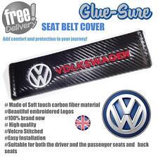 Volkswagen Car Seat Belt Safety Shoulder Strap Cover Cushion Pad Carbon Fiber