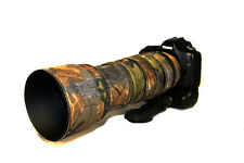 Sigma 150 600mm CONTEMPORARY neoprene lens camouflage protection cover Oak Camo