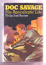 DOC SAVAGE HIS APOCALYPTIC LIFE (SIGNED Philip Farmer/1st US/Savage family tree)