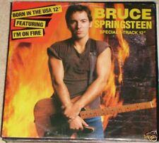 MX : BRUCE SPRINGSTEEN ( i'm on fire ) UK