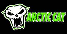 Arctic Cat Banner Sign Flag #3,    2' x 4' Snowmobile Wall Poster High Quality!!