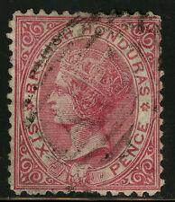 British Honduras  1872   Scott # 6  USED