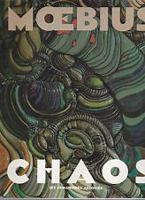MOEBIUS CHAOS LES HUMANOIDES ASSOCIES EDITION ORIGINALE