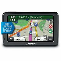 Garmin Nüvi 2455LMT 4.3-Inch Portable GPS Navigator with Lifetime Map & Traffic.