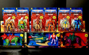 MASTERS OF THE UNIVERSE 2020 COMPLETE SET WITH 2021 PANTHOR
