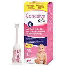 Conceive Plus Lubrifiant de Fertilité, Applicateurs Individuels 8x4gm