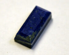 NATURAL LAPIS LAZULI LOOSE GEMSTONE 19X9MM GEM BAGUETTE CABOCHON 11CT LA38
