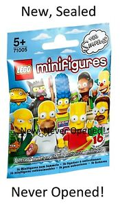 YOU PICK! New, Factory Sealed LEGO Simpsons Minifigures Series 1 (71005) CMF