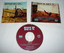 BOUD DEUN Fiction And Several Days CD ~ rare indie prog