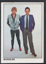 Panini 1980 Rock & Pop Collection - Sticker No 123 - Buggles   (S272)