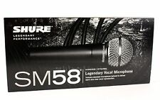 Shure SM58 Cardioid Dynamic Vocal Professional Microphone Mic Wired XLR NEW