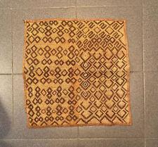 Vintage African Kuba Cloth. Handmade In Congo.