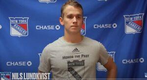 Adidas Player Issue Worn 2021 New York Rangers Training Camp T-shirt Medium