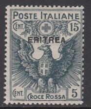 ITALY - Eritrea  Red Cross 15 cent. Sassone n.42 cv 70$  MH*