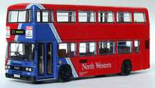 29624 EFE Leyland Olympian Double Deck Bus (Type B) North Western 1:76 Diecast