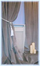 Velvet Eyelet Top Curtains & Pelmets