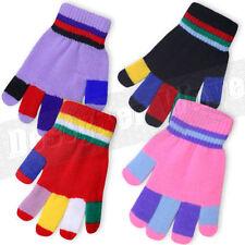 Gants et moufles multicolore pour garçon de 2 à 16 ans