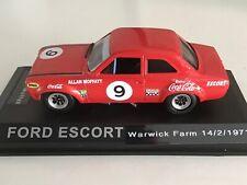 1/43 Ford Escort MK1 ALLAN MOFFAT 1971 CUSTOM code3 ixo