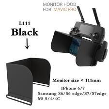PGY 4.7 inch FPV Phone Monitor Hood Sunshade for DJI Spark/ Mavic Pro Drone RC