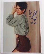 Jennifer Lavoie Playboy Miss August 1993 Autographed Turquoise Sweater Photo #15