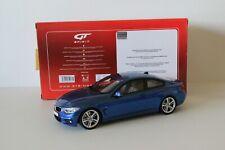 BMW 4 M 435i F32 GT Spirit 1/18 bleu blue GT027
