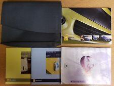 RENAULT CLIO OWNERS MANUAL HANDBOOK WALLET 2003-2006 PACK B-365