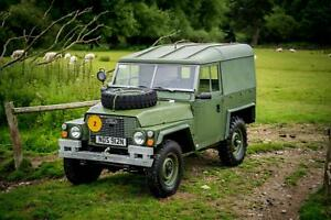 Land Rover Series 3 Lightweight Hard Top Military 1974