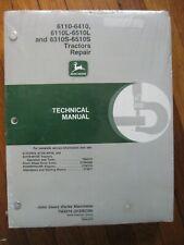 John Deere 6110 6310 6410 6110L 6510L 6310S 6510S Tractor Technical manual