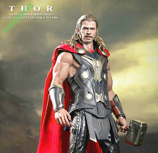READY! HOT TOYS THOR 2 DARK WORLD AVENGERS CHRIS HEMSWORTH LIGHT ASGARDIAN ARMOR